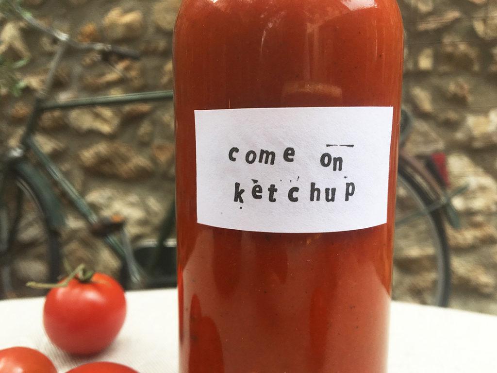 Hjemmelaget-ketchup