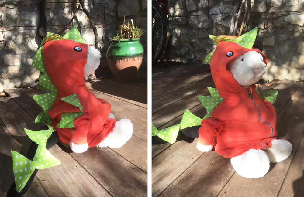 Karnevalkostyme Dinosaur D.I.Y.