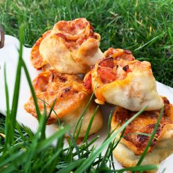 Barnslige pizzasnurrer