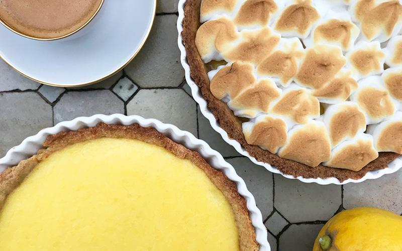 Lettere Tarte au citron (sitronpai)