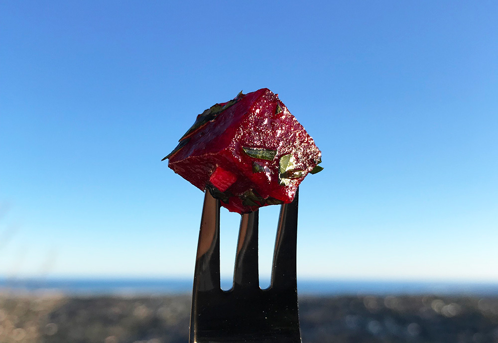 Frisk og rask rødbetsalat