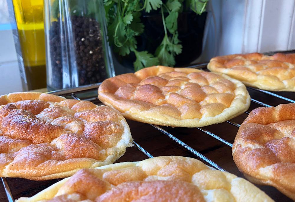 Luftig cloud bread - et godt alternativ til brødskiven