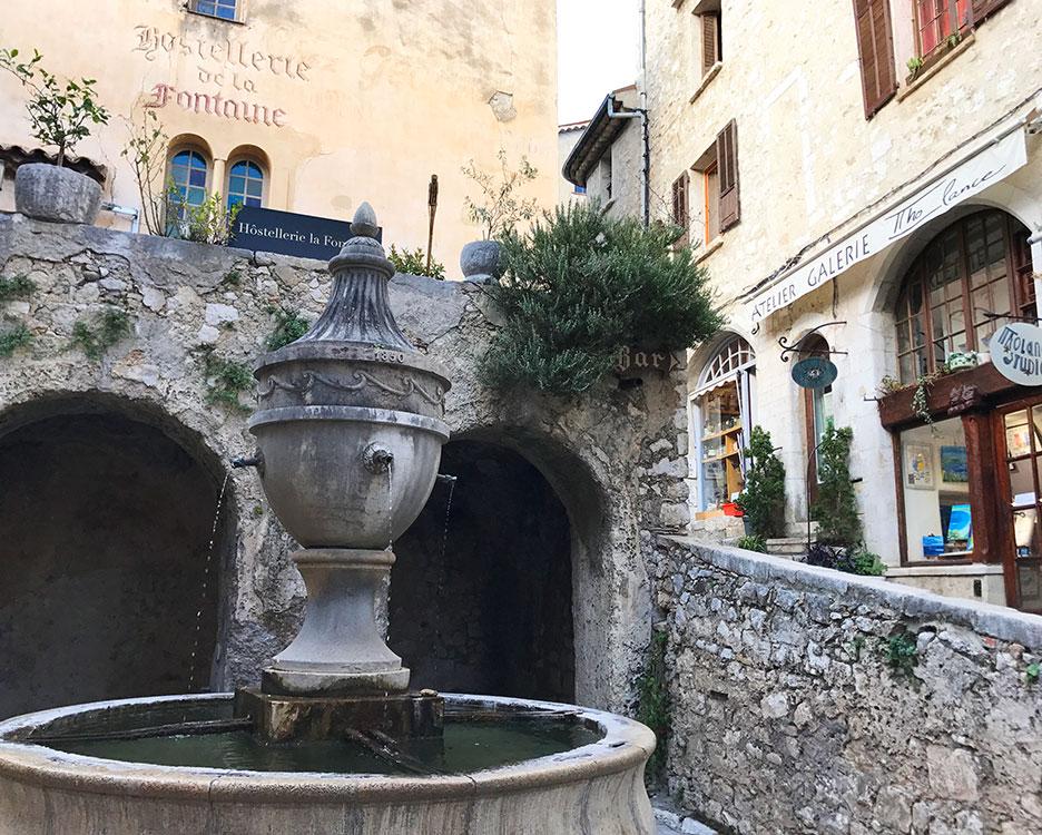 Saint-Paul de Vence - Kunstnernes favorittby