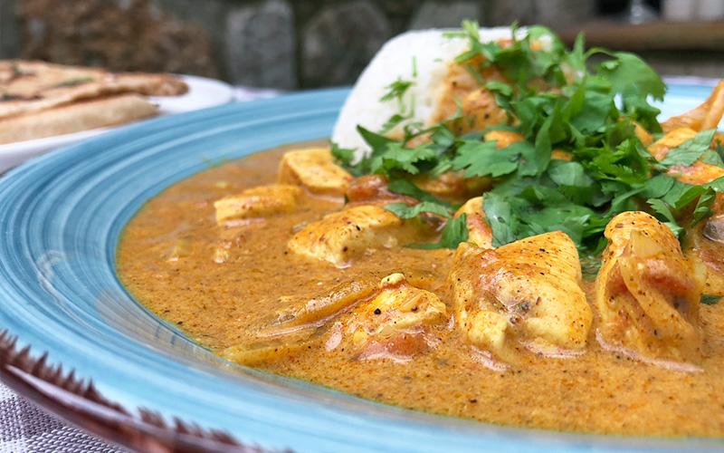 Hjemmelaget chicken tikka masala