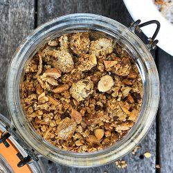 Granola med nøtter