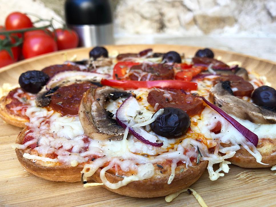 Pizzavaffel - Barnas favoritt!