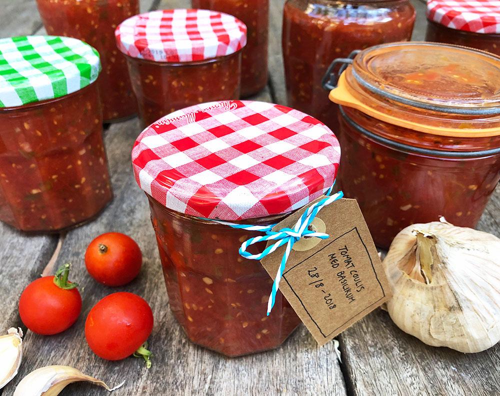 Hjemmelaget tomatcoulis - for smakens og helsas skyld!