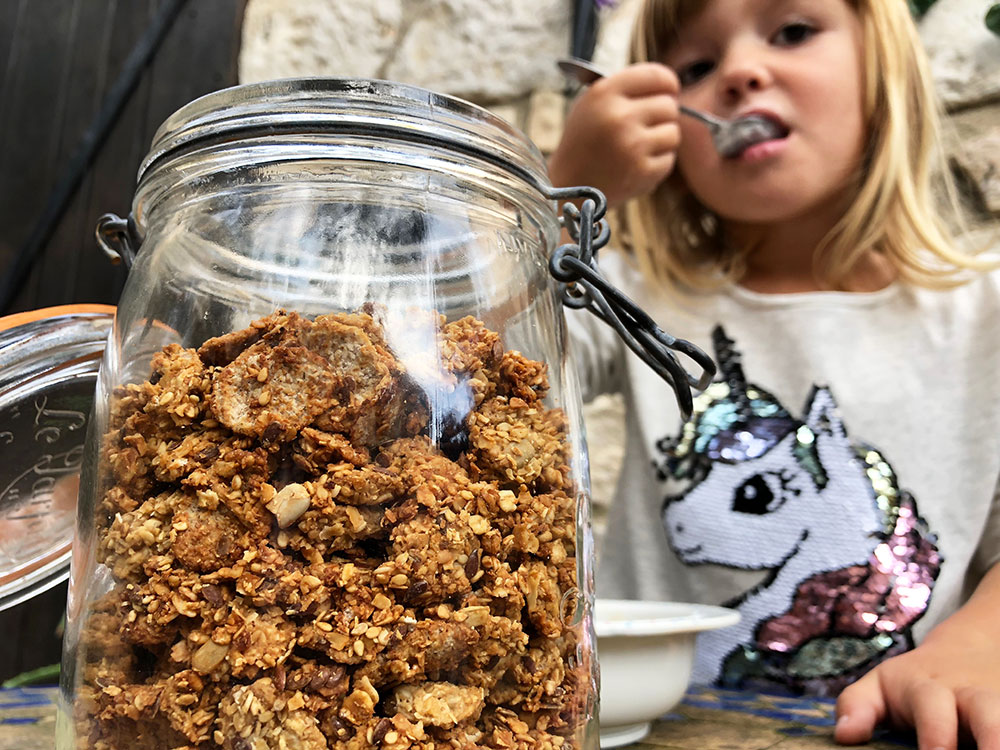 Barnslig god granola