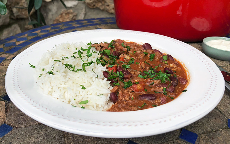Chili con carne - slow cook