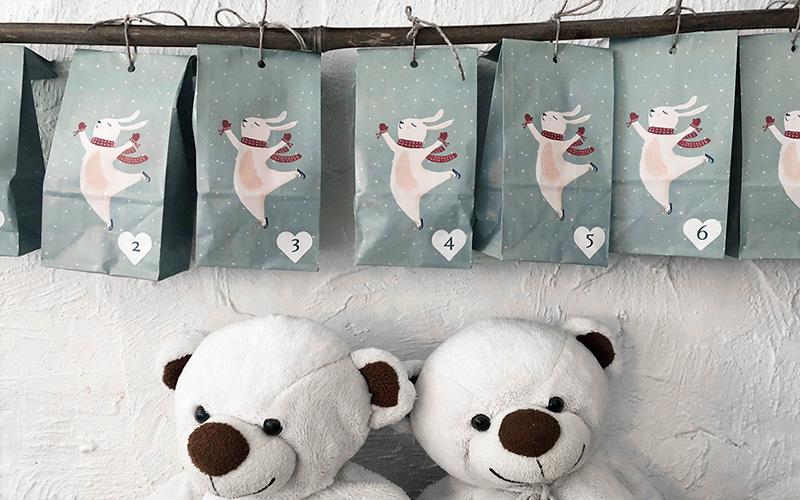 24 små gleder - julekalender til de små
