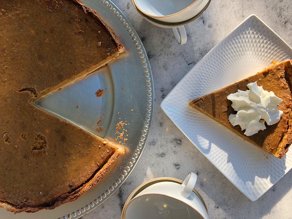 Pumpkin pie - gresskarpai