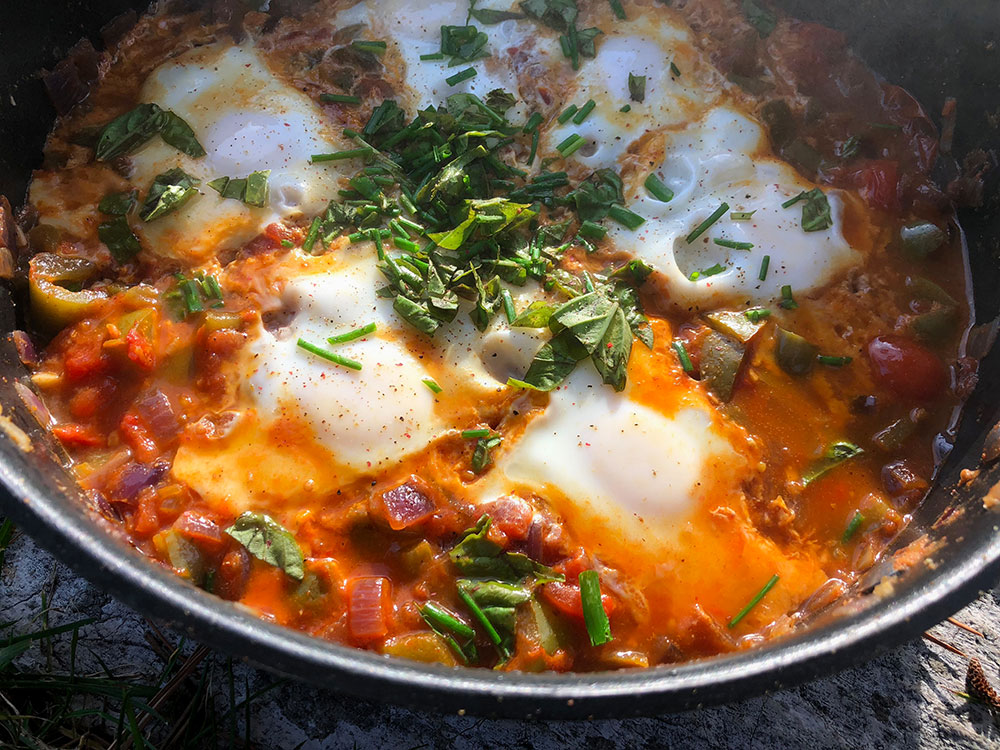 Shakshuka - en varmende og lettvint vegetarrett
