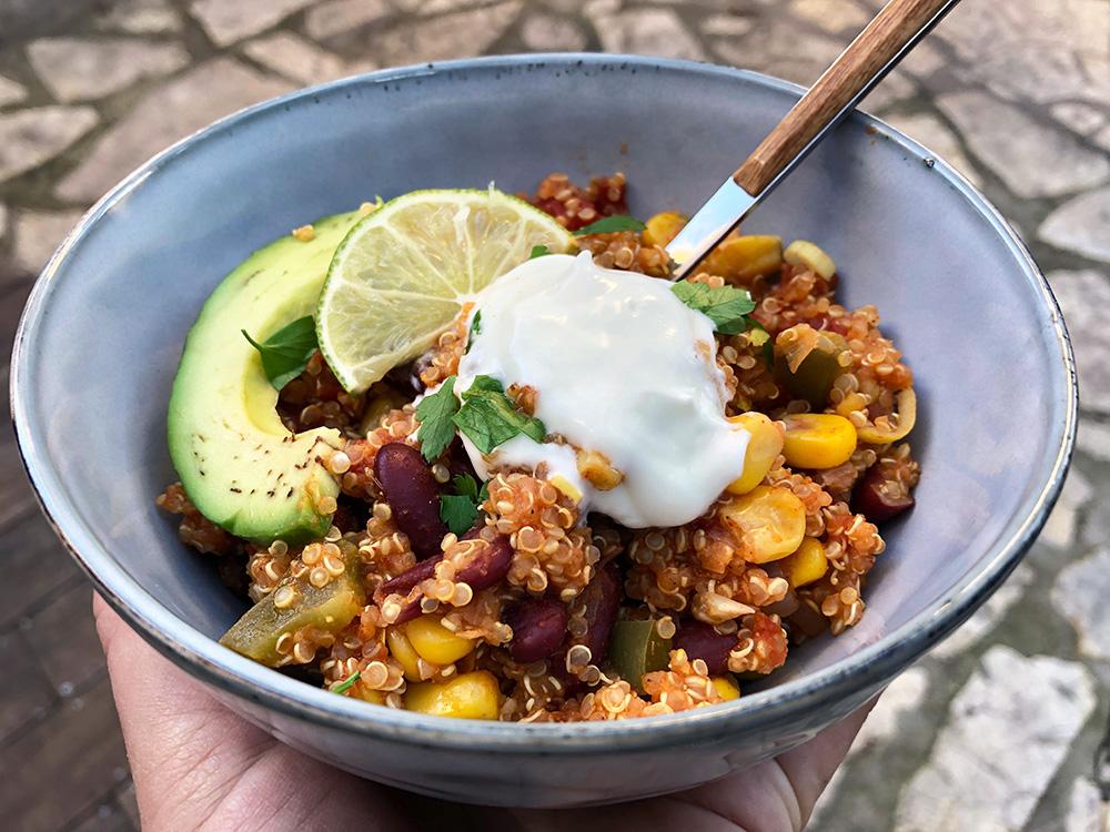 Meksikansk og mettende quinoa