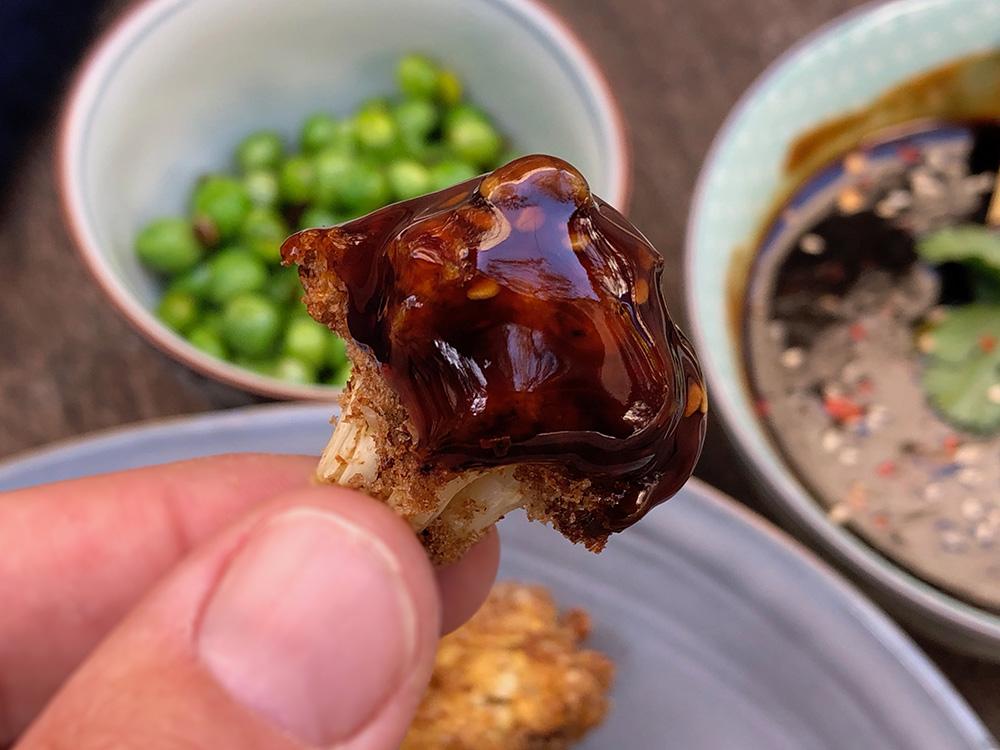 Crispy blomkål med hjemmelaget teryakisaus
