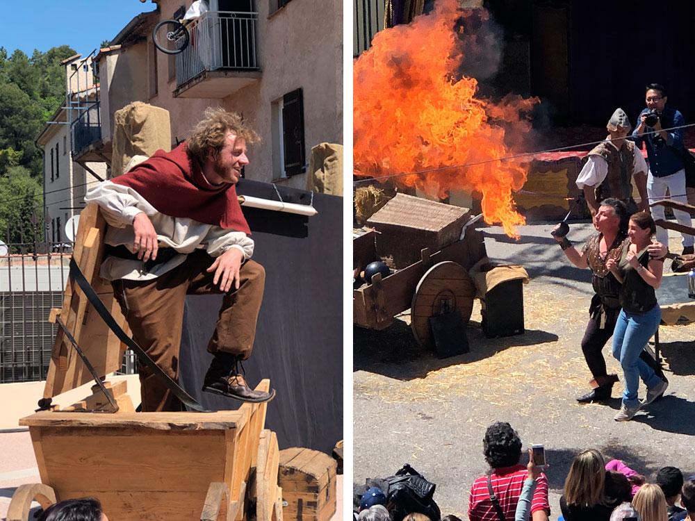 Fête médiévale i Tourette-Levens