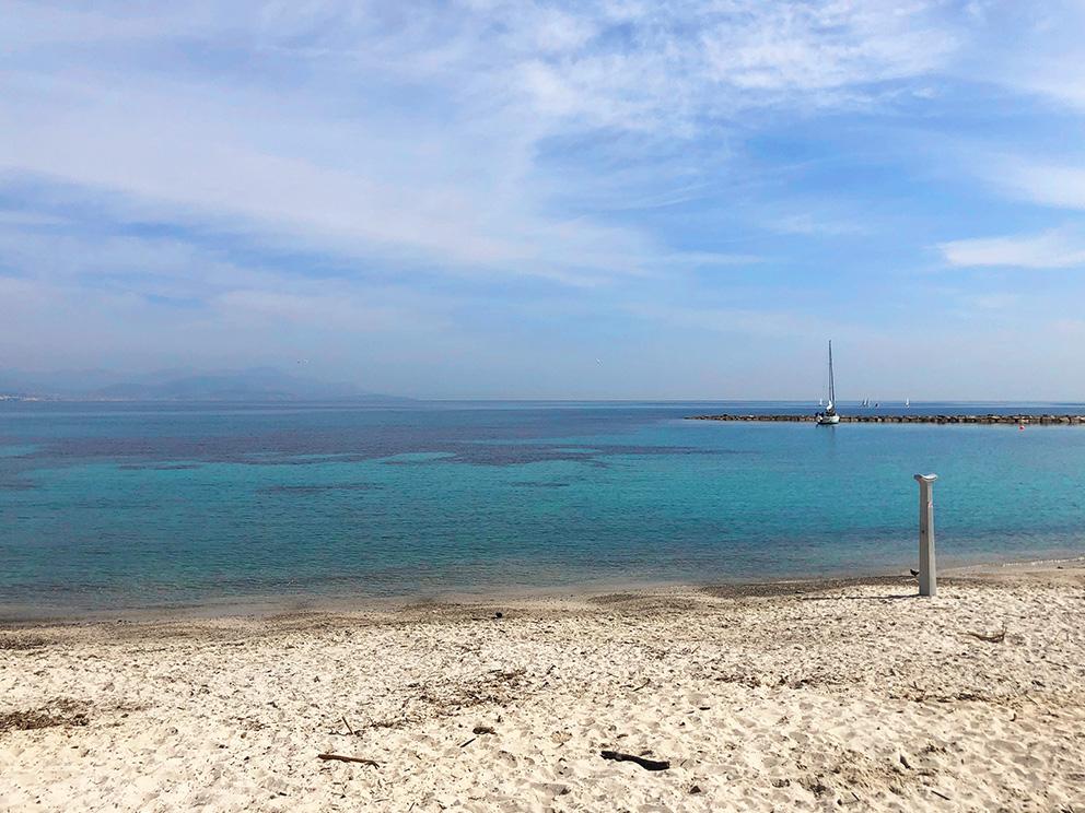 Stranden i Antibes