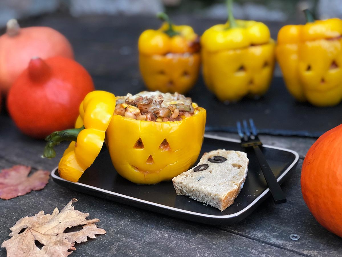 Barnas skremmende søte halloween-paprika!