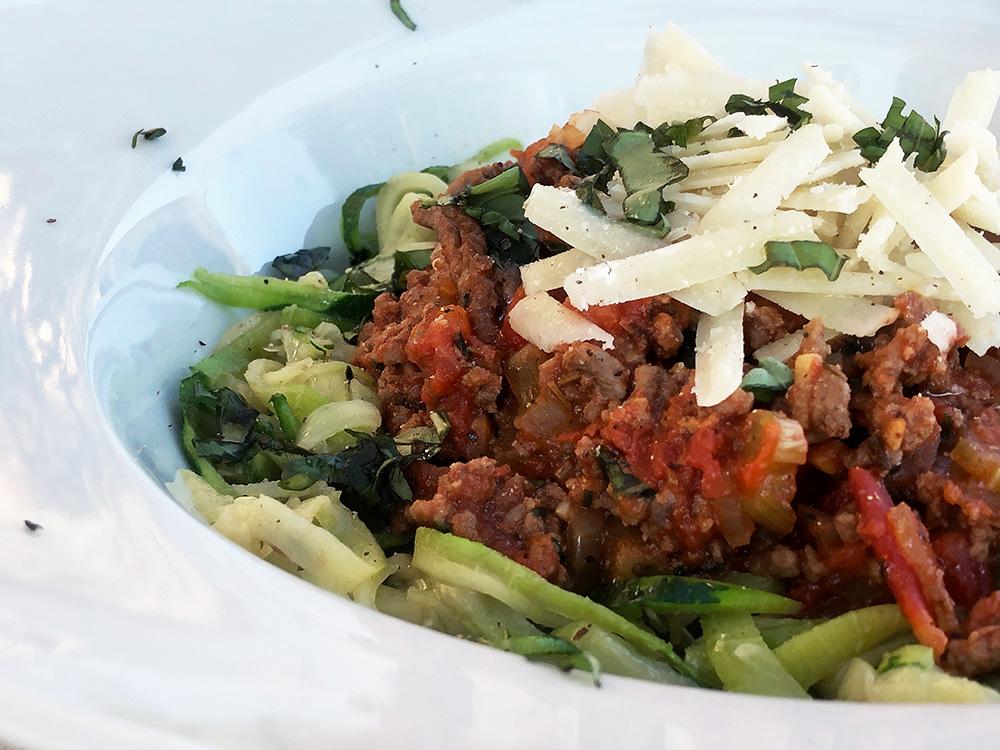 Squashghetti Bolognese