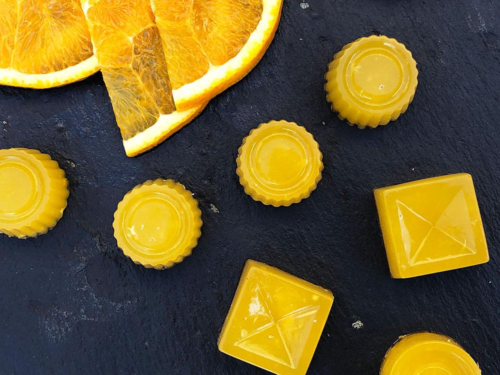 Gelegodis med appelsin og ingefær