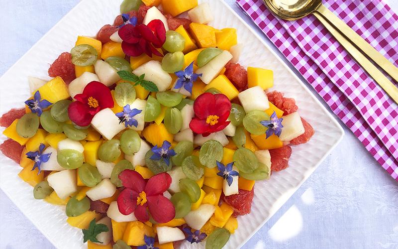 Fruktbar fruktsalat