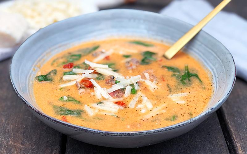 Kremet suppe fra Toscana