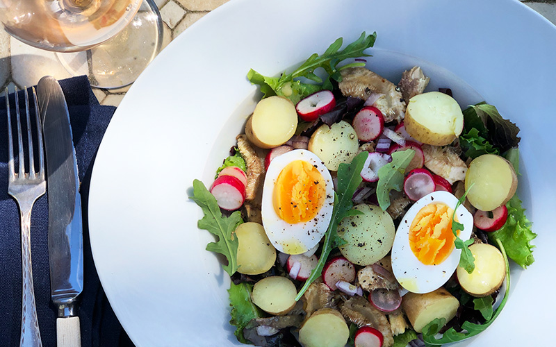 Salade Bretonne - en komplett salat