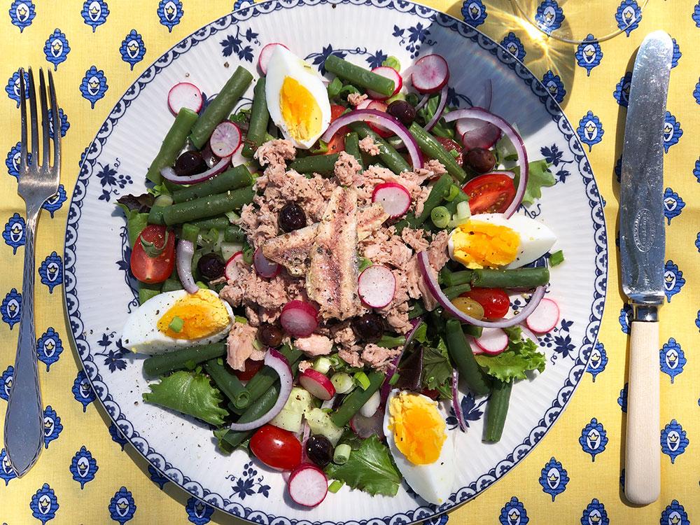 Salade Nicoise - den klassiske salaten fra Nice