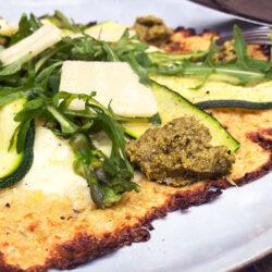 Vårlig vegetarpizza
