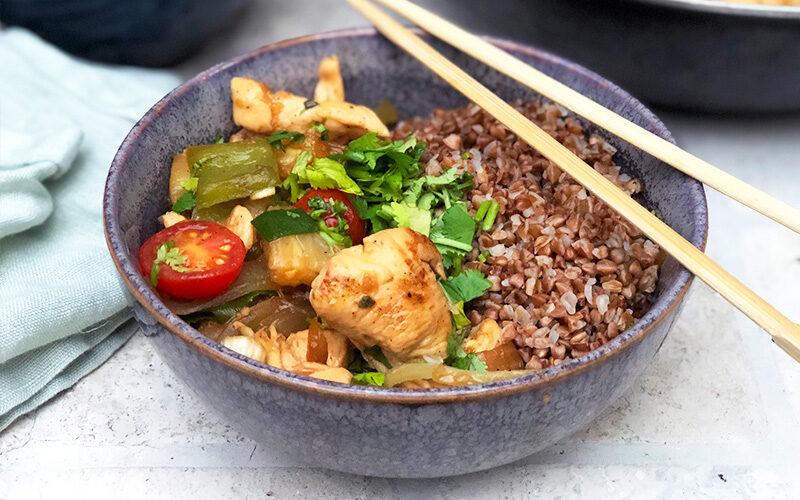 Vietnamesisk kyllingwok